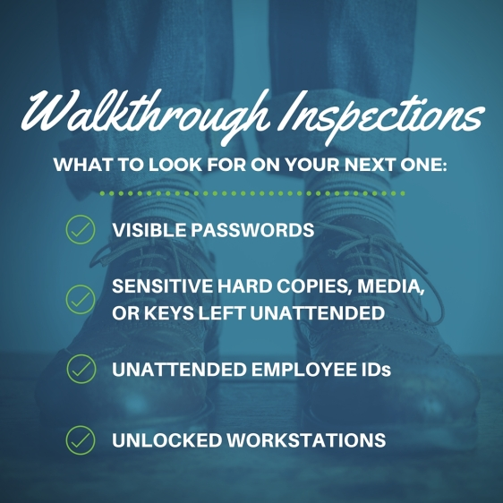 Walkthrough Inspections