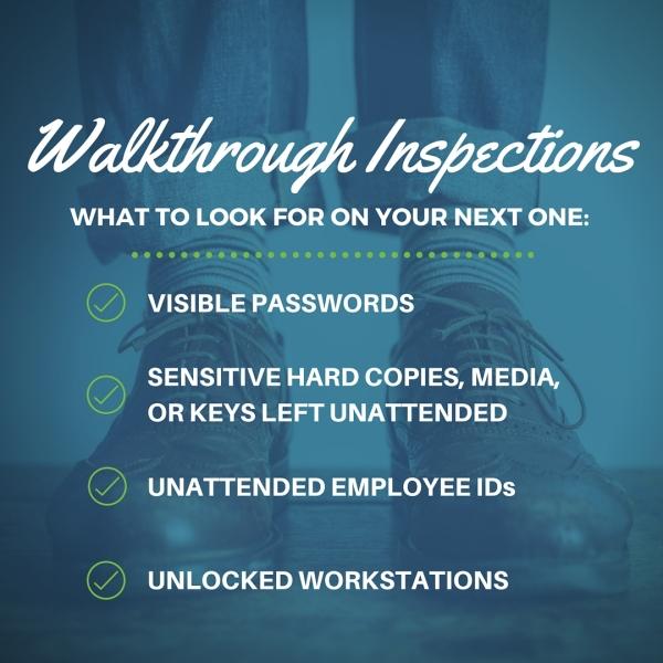 Walkthrough Inspections