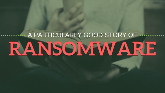 Good tales of ransomware