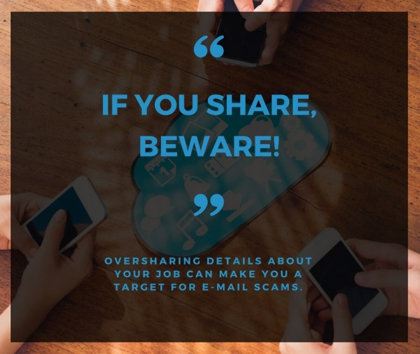 If you share, beware