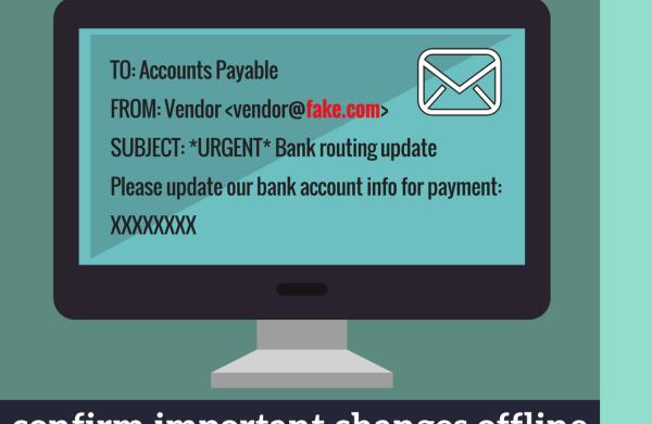 Confirm important changes offline