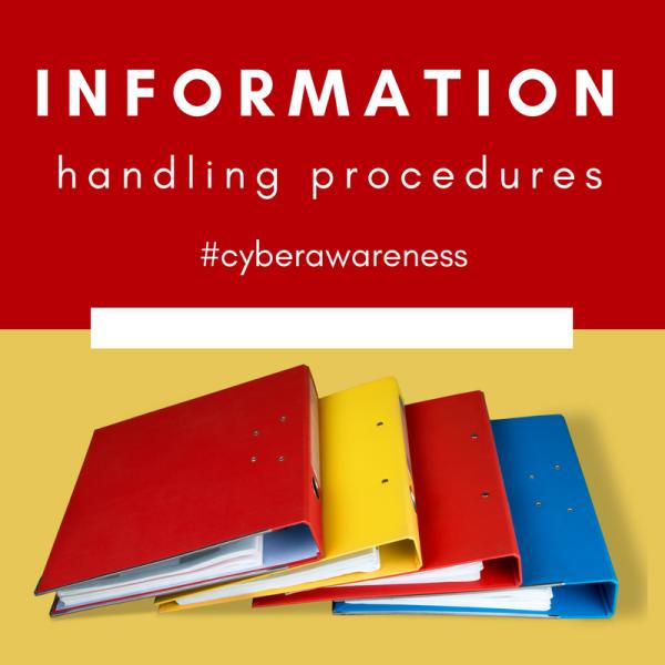 informaiton handling procedures
