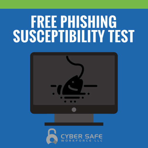 Get a free phishing susceptibility test