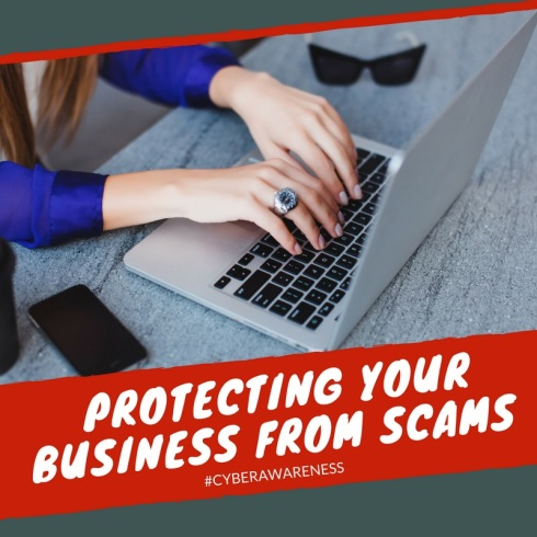 Protecting your business from scams
