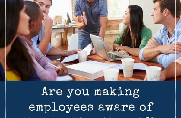 Train employees on the insider threat