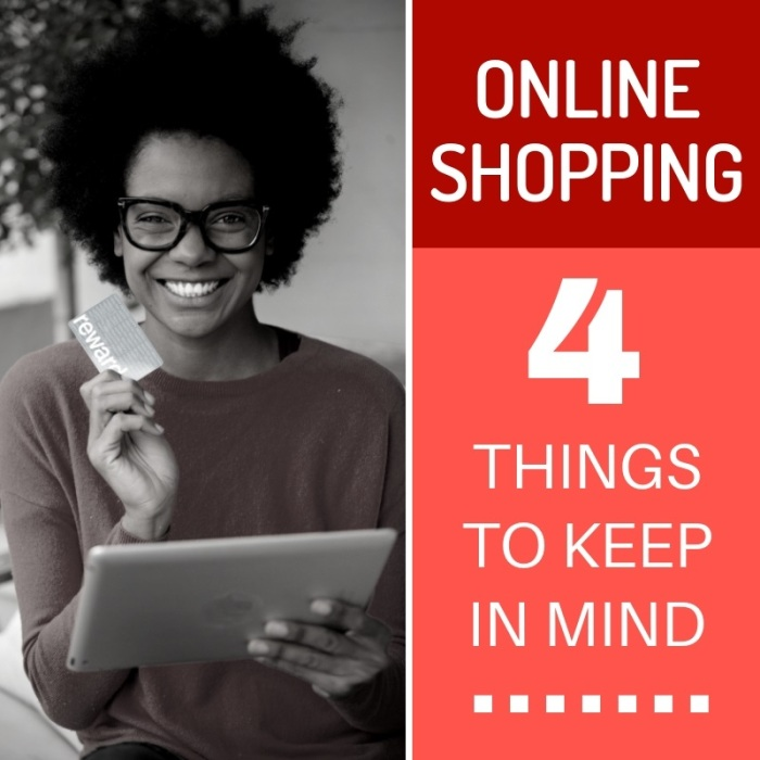 Online Shopping - 4 Things to Keep in Mind