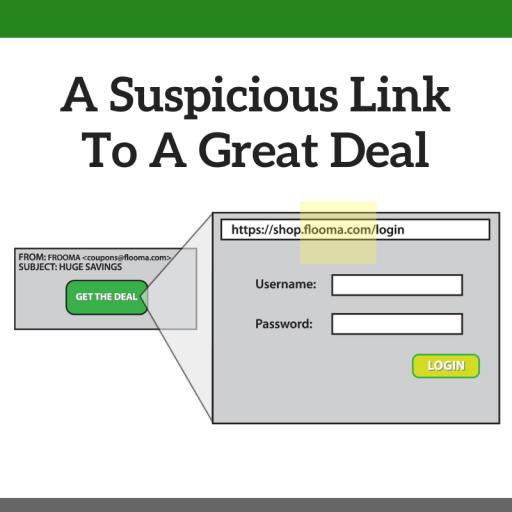 A suspicious link
