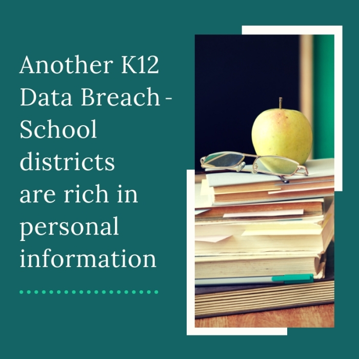 k12 data breach - school districts