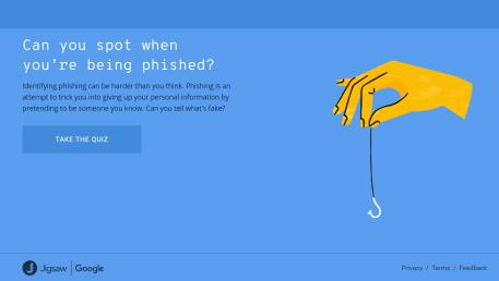 Google Phishing Quiz