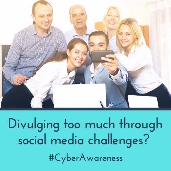 Divulging too much through social media challenges?
