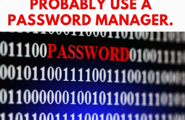 You should use a password manager