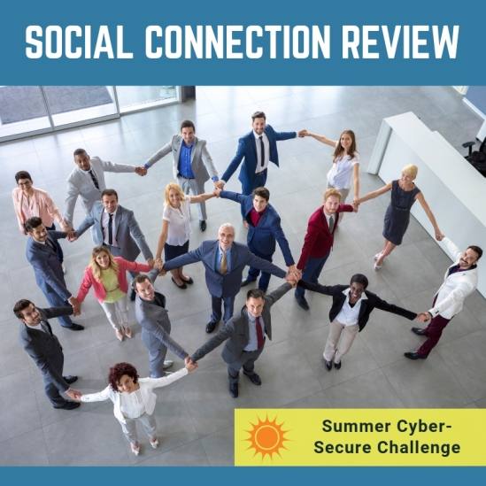 Review social connections