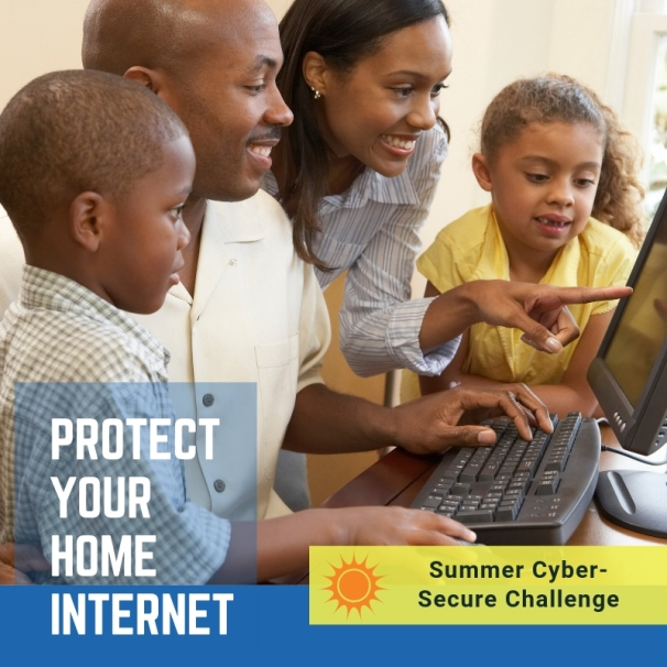 Protect your home internet