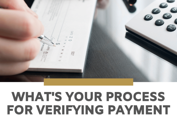 What's your process for verifying payment requests?