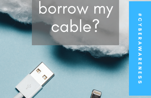 Want to borrow my cable?