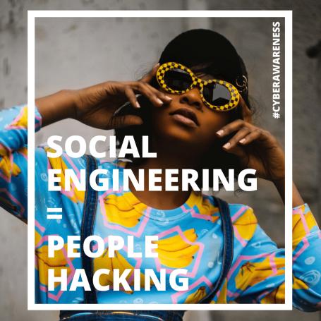 Social engineering is people hacking
